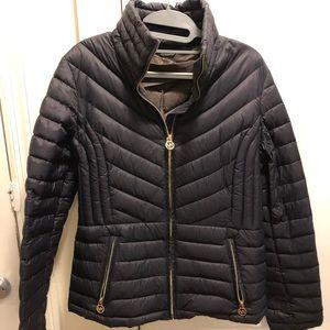 Navy Michael Kors coat
